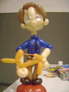 Earth friendly balloon twister from greenville sc joy for Painting with a twist greenville sc