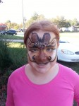 Greenville baby giraffe face paint